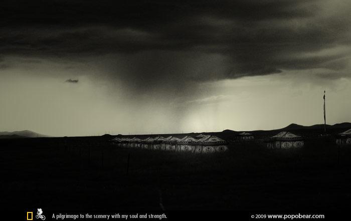高原上的雨